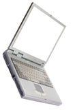 изолированная компьютером белизна компьтер-книжки Стоковое Изображение RF