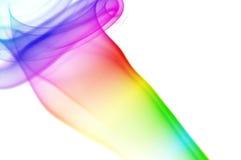 изолированная конспектом белизна дыма Стоковые Фотографии RF