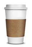 Изолированная кофейная чашка Стоковые Изображения RF