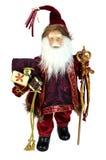 Изолированная кукла Дед Мороз Стоковое фото RF