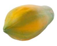Изолированная папапайя Стоковая Фотография