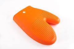 изолированная перчаткой белизна печи Стоковое Фото