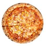 Изолированная пицца Стоковые Изображения RF