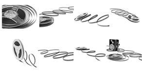 изолированная пленкой белизна вьюрка Стоковое Фото