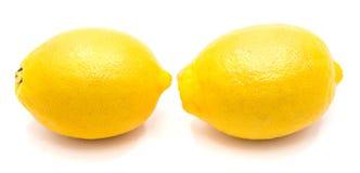 изолированная плодоовощ белизна лимона Стоковые Фотографии RF