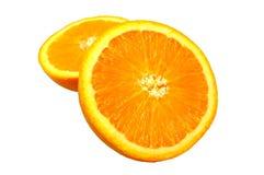 изолированная померанцовая белизна Стоковое Фото