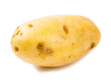 изолированная предпосылкой белизна новой картошки Стоковое фото RF