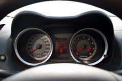 изолированная приборная панель автомобиля Стоковые Фото