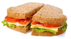 изолированная пшеница сандвича вся Стоковые Изображения RF