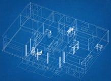 Изолированная светокопия †дизайна квартиры «- бесплатная иллюстрация