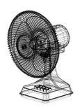 Изолированная светокопия архитектора вентилятора таблицы - иллюстрация вектора