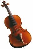 изолированная скрипка Стоковое Изображение