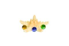 изолированная стеклом белизна starfish сфер Стоковое Изображение