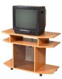 изолированная таблица tv Стоковые Фотографии RF