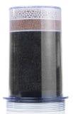 изолированная фильтром вода очищения Стоковое Фото
