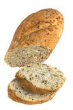 изолированная хлебом белизна хлебца Стоковое фото RF