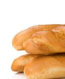 изолированная хлебом белизна хлебца Стоковые Изображения