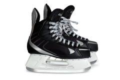 изолированная чернота катается на коньках белизна стоковое изображение