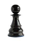 изолированная шахмат белизна пешки Стоковая Фотография RF