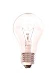 Изолированная электрическая лампочка Стоковое фото RF
