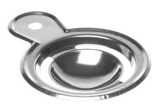 изолированная яичком нержавеющая сталь сепаратора Стоковые Изображения RF