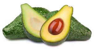 4 изолированного авокадоа Стоковое Изображение RF