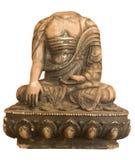изолированное безглавое Будды Стоковое Фото
