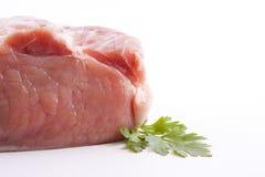 Изолированное красное мясо Стоковое Фото