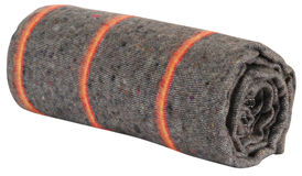 изолированное одеяло стоковое изображение