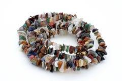 изолированное ожерелье макроса Стоковое Изображение