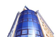Изолированное офисное здание Стоковое Изображение