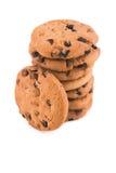 изолированное печенье шоколада обломока Стоковые Фотографии RF