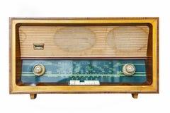 изолированное радио ретро Стоковые Изображения