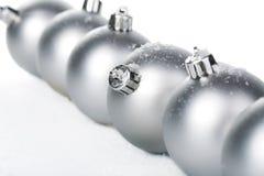 изолированное рождество шариков Стоковая Фотография