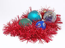 изолированное рождество шариков Стоковое Фото
