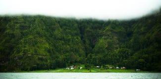 изолированное село стоковое фото rf