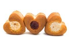Изолированное сердце печенья Стоковая Фотография RF