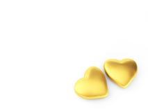 изолированное сердце Стоковые Фото