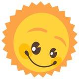 изолированное солнце Стоковая Фотография RF