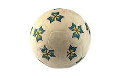 изолированное grunge шарика Стоковое Фото