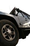 изолированное Land Rover Стоковое Изображение RF