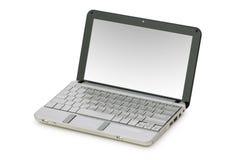 изолированное netbook Стоковое фото RF