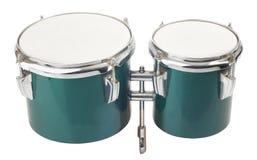 изолированные барабанчики стоковые изображения rf