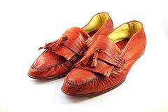 изолированные ботинки Стоковая Фотография