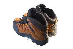 изолированные ботинки стоковое фото rf