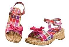 изолированные ботинки Стоковые Фото