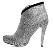 изолированные ботинки womanish Стоковая Фотография RF