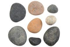 изолированные камни Стоковое фото RF