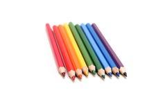 изолированные карандаши Стоковая Фотография