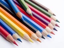 изолированные карандаши Стоковое Фото